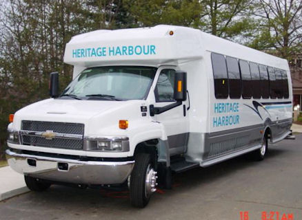 Heritage Harbour Bus - Driver Side View
